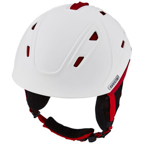 UVEX p2us Helmet white-red mat